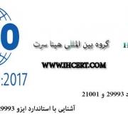 استاندارد ایزو29993:2017